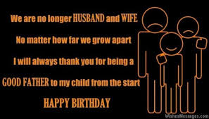 birthday wishes for ex husband com