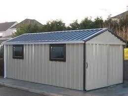 garden shed metal doors full