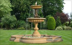 water fountain design ideas cast stone