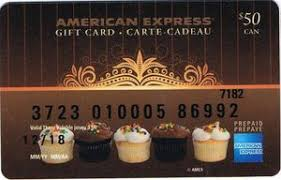 gift card ins american express