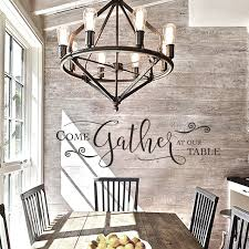 Come Gather At Our Table Sign Wall Decal Dining Room Decor Dining Room Table Diningroom Kit Dining Room Wall Art Dining Room Decal Gather Sign Dining Room