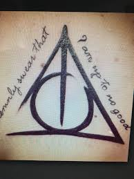 I doni della morte | Idee per tatuaggi, Tatuaggi di harry potter ...