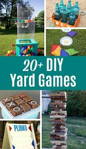 20 diy yards game for the best summer