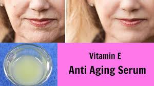 diy vitamin e anti aging serum glowing