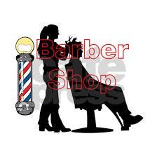 Lady Barber Shop Design Wall Decal By Jessielee Cafepress