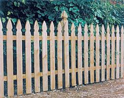 Universal Forest 8 Ft X 4 Ft 1x4 Gothic Picket Fence Section At Sutherlands