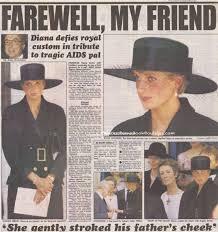 "29 August 1991: Princess Diana attends the funeral of Adrian Ward Jackson,  Grosvenor Chapel, Mayfair, London. – Princess Diana News Blog ""All Things  Princess Diana"""