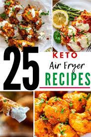 25 keto air fryer recipes kicking carbs