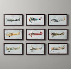 Vintage Prop Plane Art