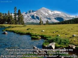 nature is my manifestation of god quote collection of inspiring