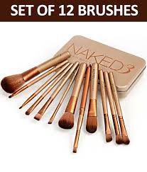 urban decay makeup brush set with
