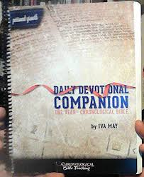 Daily Devotional Companion to the One Year Chronological Bible (NKJV): Iva  May: Amazon.com: Books