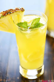 sparkling pineapple sangria fivehearthome