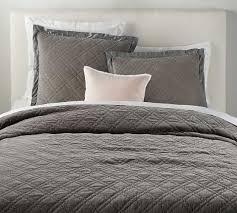 washed velvet silk blend quilt king