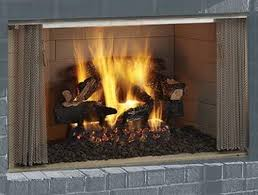 villawood 36 outdoor wood fireplace