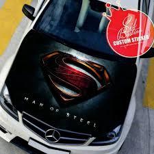 Superman Car Hood Sticker Sid Bastian