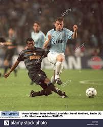Calcio - finale di Coppa UEFA - Lazio V Inter Milan Foto stock - Alamy
