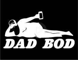Dad Bod Sticker Silhouette Decal Design Funny Car Decals Funny Car Stickers Funny Truck Decals In 2020 Funny Decals Funny Car Decals Vinyl Window Decals