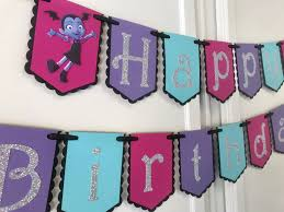 Vampirina Teal Version Feliz Cumpleanos Banner Party Decoracion