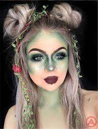 scary yet pretty halloween makeup looks