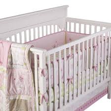 target love baby girl crib bedding set