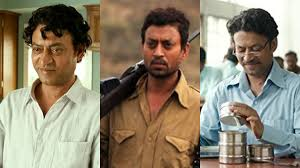 Bollywood Actor Irrfan khan Best films shown -
