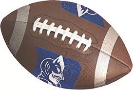 Amazon Com 10 Inch Football Decal Duke University Blue Devils Logo Removable Wall Sticker Art Ncaa Home Room Decor 10 By 6 Inches Baby