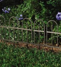 Inexpensive Garden Fence Garden Or Flower Bed Iron Fence Edging Best Price Garden Fence Metal Garden Fencing Garden Fencing Garden Edging
