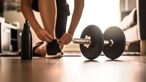 Trening w domu z hantlami - Blog New Level Sport