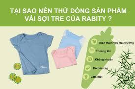 Vải sợi tre - sản phẩm thời trang an toàn dành cho trẻ sơ sinh ...