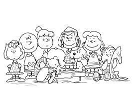 Peanuts Karakters Kleurplaat Gratis Kleurplaten Printen