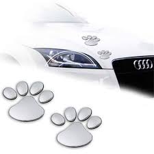 3d Cat Paw Car Stickers Purrfect Beauty