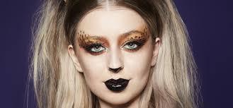 leopard halloween makeup tutorial the