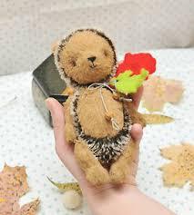 viscose hedgehog sewing pattern 7 inch