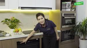REVIEW] _ Hướng dẫn sử dụng máy rửa bát âm tủ EUROSUN SMS58EU09BT - YouTube