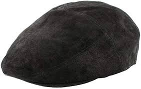 soft leather 5 panel flat cap