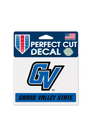 Grand Valley State Lakers Perfect Cut Auto Decal Blue 5713846