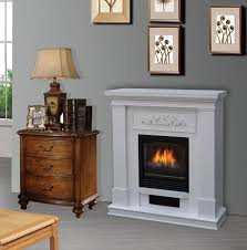 62 inch grand white electric fireplace