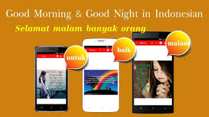 indonesian good morning afternoon