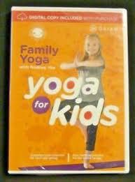 family yoga dvd 2004 w digital copy