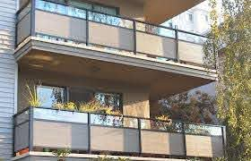 Balcony Railing Privacy Covers Types Ideas The Important Apartment Home Depot Elements And Style Balconies With Rails For Covered Rail Screen Edge Detail Crismatec Com