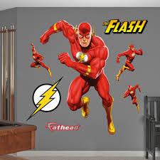 Justice League Flash Wonder Woman 3d Window Decal Wall Sticker Art Mural J917