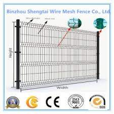 China Customized Size Galvanized Steel Wire Mesh Fence For Garden China Wire Mesh Fence Welded Wire Mesh Fence