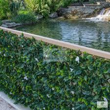 Amazon Com Natrahedge Faux Yellow Birch Expandable Trellis Home Kitchen Ficus Artificial Foliage Fence Design