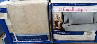 tranquil nights 6 pc sheet set queen or