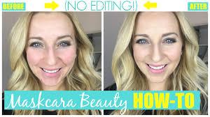 easy maskcara beauty makeup tutorial