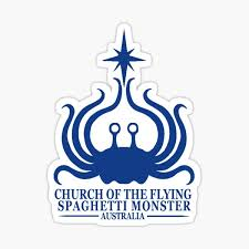 Flying Spaghetti Monster Australia Sticker By Pastafarians Redbubble