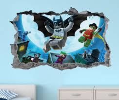 Batman Wall Mural Design Lego Art Cityscape Uk Decal Stickers 3d Vamosrayos