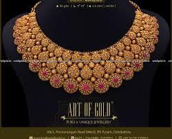 antique necklaces art of gold