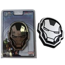New Avengers Iron Man 3 D Chrome Plastic Auto Car Truck Emblem Decal Sticker Ebay